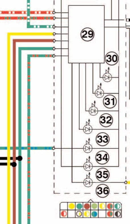 Schema Elettrico Yamaha Mt 03 : Mt cablaggi strumentazione impianto elettrico