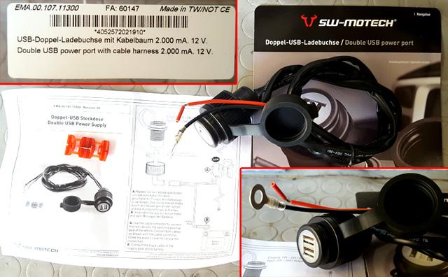 Schema Elettrico Yamaha Mt 03 : Tracer connettore usb montaggio presa