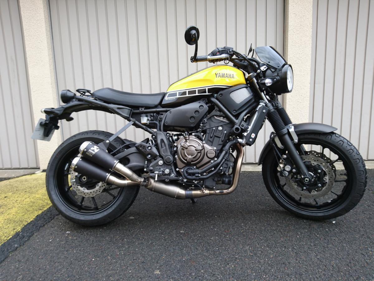 XSR 900 Akrapovic Racing Line Titanium